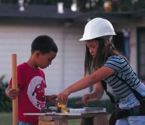 deti doma pracuju